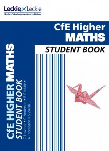 Higher Maths textbook cover